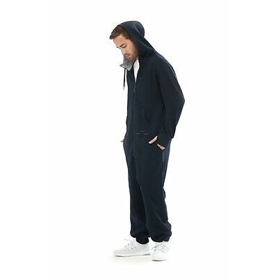 Lazy Pants Men's Navy The Sunday Onesiee Jumpsuit (Retail $170)