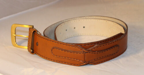 """Harness House Steerhide Belt 47"""" Inches Long Stamp"""