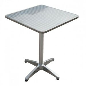 Garten & Terrasse Bistrotisch 70cm Klapptisch Bartisch Gartentisch Partytisch Stehtisch Tisch