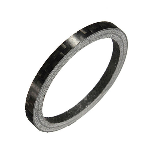 "Carbon Fiber 3//5//10//15//20mm Spacer 1 1//8/"" For Stem Bike Bicycle Headset Washer /&"