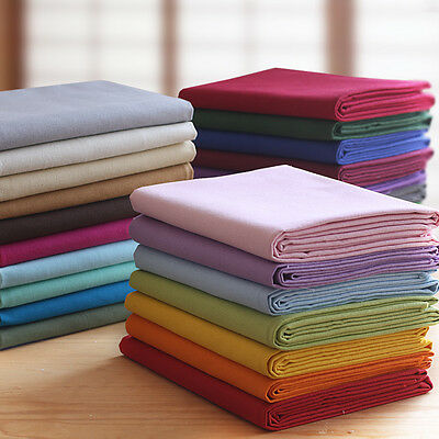 100% Cotton Duck Canvas Fabric Material 8oz Thin Crafts 148cm Wide Per Metre