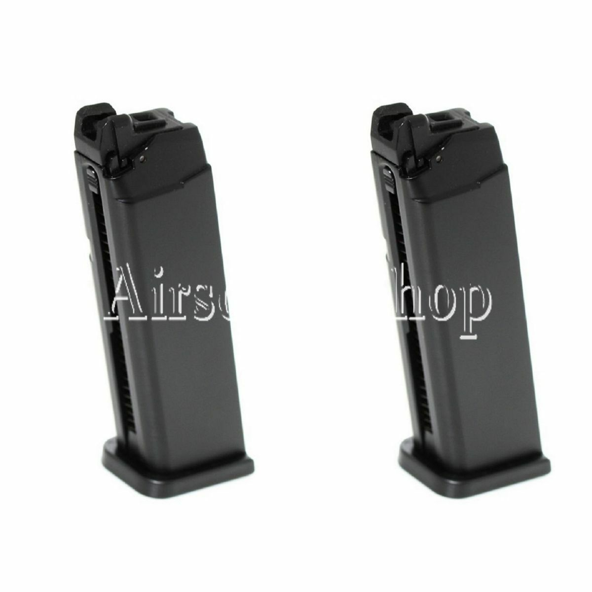 Airsoft APS 2pcs 23rd Top Gas Turbo Magazine for Marui APS DRAGONFLY D-MOD GBB