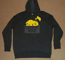 Pokemon Pikachu Current Mood Hoodie 2XL New Officially Licensed