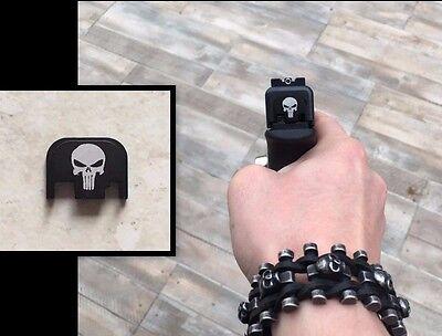 Deko Hinten Ornament Zylinderkopfdichtung Cover Beflockt Glock Für Gen 5 Neu