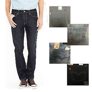 106b160f Men's Levi's 511 Slim Skinny Fit Denim Jeans Tapered Leg Stretch ...