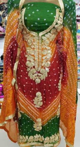Indian Pakistani Women Daily Wear Bollywood Dress Material Fabric Shalwar Kameej