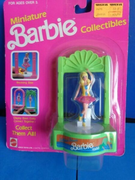 "Baseball Poupée barbie Mattel Miniature 3/"" INCH FIGURE neuf"