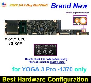 Lenovo-YOGA-3-Pro-1370-CPU-Intel-M-5Y71-8GB-AIUU2-NM-A321-5B20H30466-Motherboard