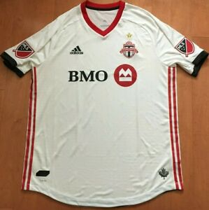 sneakers for cheap 14ec8 eff11 Details about NWOT! XL ADIDAS Toronto FC AUTHENTIC MATCH CHAMPIONSHIP STAR  Jersey - TFC MLS