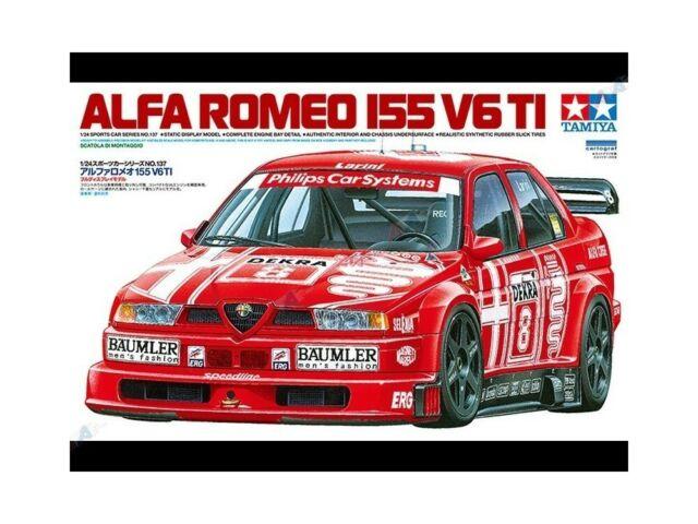 Tamiya 1:24 TAM24137 ALFA ROMEO 155 V6 TI