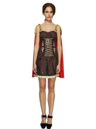 NEW Fever Gladiator War Queen Roman Godess Spartan Ladies Fancy Dress Costume