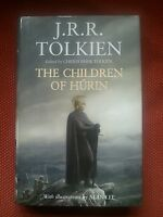 THE CHILDREN OF HURIN J.R.R. TOLKIEN 1ST ED 1/1 2007 HB DJ LORD OF THE RINGS VGC