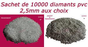 LOT-10000-DIAMANTS-PVC-2-5mm-DECORATION-DE-TABLE-mariage-fiancailles-bapteme