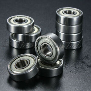 10PCS-Miniature-Sealed-Ball-Bearing-Groove-Model-Metal-Shielded-Metric-Radial