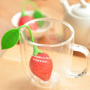 Strawberry-Silicone-Loose-Tea-Leaf-Strainer-Herbal-Spice-Infuser-Filter-Diffuser