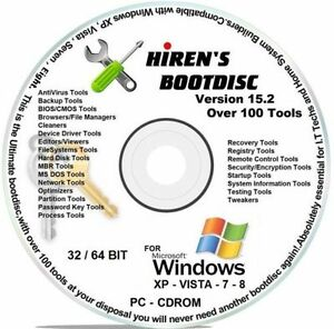 hirens boot cd 15.2