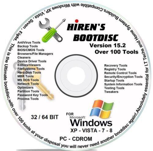 hiren boot cd download 32 bit