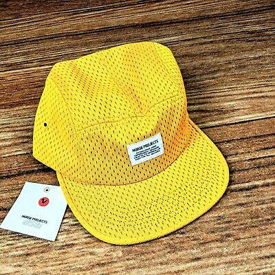 NWT NORSE PROJECTS 5-PANEL EMBROIDERED LOGO CAP