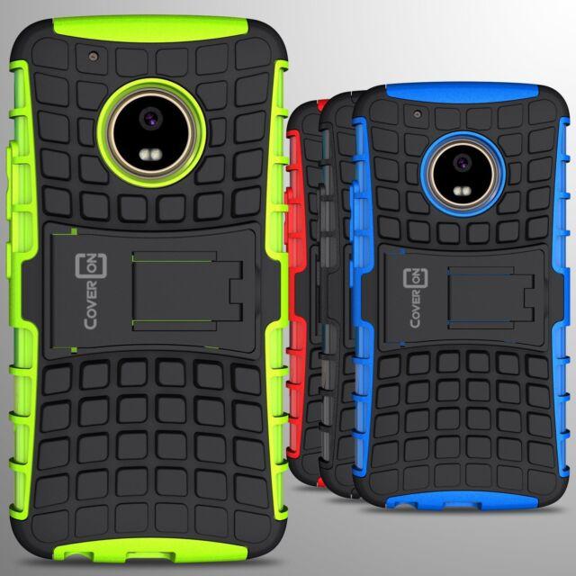 purchase cheap 26a70 ef761 For Motorola Moto G5 Plus / Moto X 2017 Case Hard Protective Kickstand Cover
