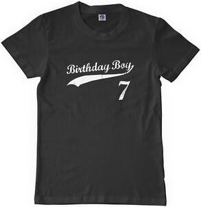 Image Is Loading Threadrock Kids Birthday Boy 7 Year Old Youth