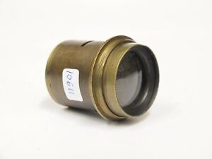 Vintage-Unbranded-8-034-Brass-Lens-without-Iris-Stock-no-u10611