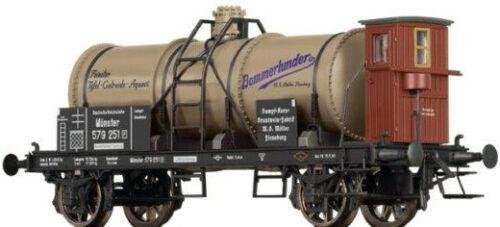 Brawa H0 47845 Kesselwagen Bommerlunder der DRG
