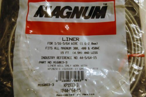 MAGNUM 15/' LINER KP1933-3 KP-44-564-15 for 1//16-5//64 WIRE 44-5//64-15