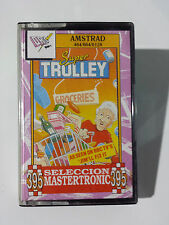 SUPER TROLLEY - AMSTRAD CPC 464 CASSETTE / DRO SOFT - SELECCION MASTERTRONIC