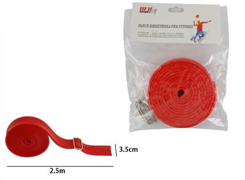 Band Rubber Band Resistance for Fitness Elastic 2,5mtx3,5cm DFH