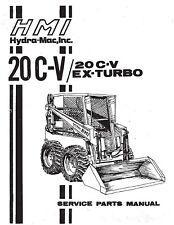 Hydra Mac 20c V Gas Amp 20c V Ex Turbo Diesel Skid Steer Parts Manual