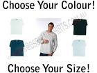 | Mens 100% Cotton Long Sleeve TShirt Tee | Black White