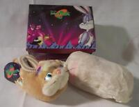 Wb Looney Tunes Space Jam Basketball Kids Lola Bunny Slippers Size L 9-10