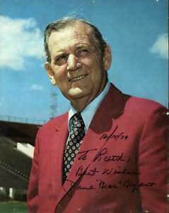 Paul Bear Bryant Psa Dna Coa Autograph 8x10 Photo Hand Signed
