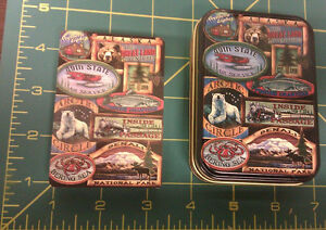 Alaska-Playing-Cards-in-Tin-Case-Lodge-Sign-theme-We-ship-worldwide