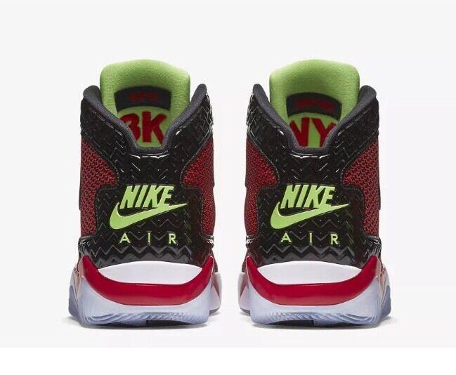 Nike Air Jordan Spike Forty Sz 9 Mars Red Black Mens Basketball Shoes 819952-605