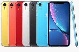 Apple-iPhone-XR-Smartphone-64GB-128GB-Unlocked-Verizon-AT-amp-T-Sprint-T-Mobile