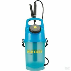 Matabi 5l Evolution 7 Sprayer Translucent Tank 5 Litre Fibreglass