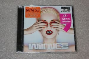 Katy-Perry-Witness-CD-DELUXE-Special-Edition-Polish-Stickers-New-Sealed