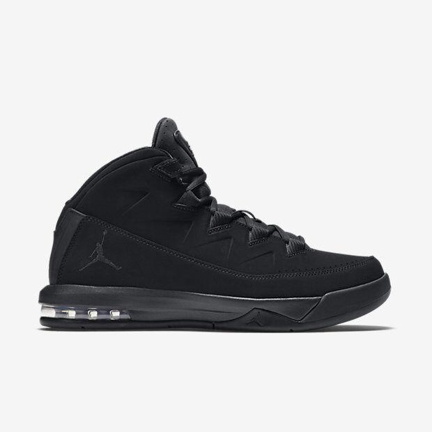 807717-010 Men's Jordan Air Deluxe/Velocity 2 BLACK/BLACK-BLACK Great discount