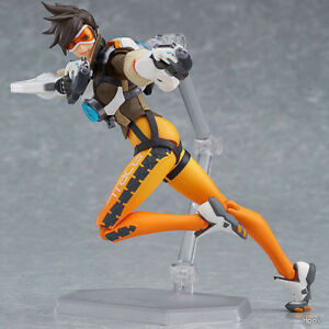 Max-Factory-Figma-Series-352-TRACER-Overwatch-BLIZZARD-Action-Figure-Box-Packed
