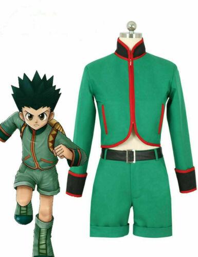Hunter X Hunter Gon Freecss Uniform New in Stock Cosplay Costume* Free Shipping