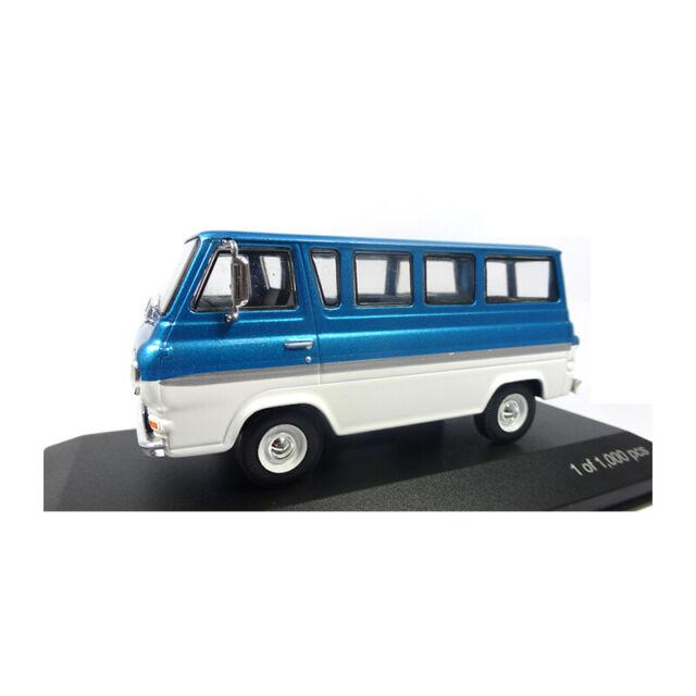 Whitebox Wb284 Ford Econoline Metálico Turquesa y Blanco Escala 1:43 (226688)