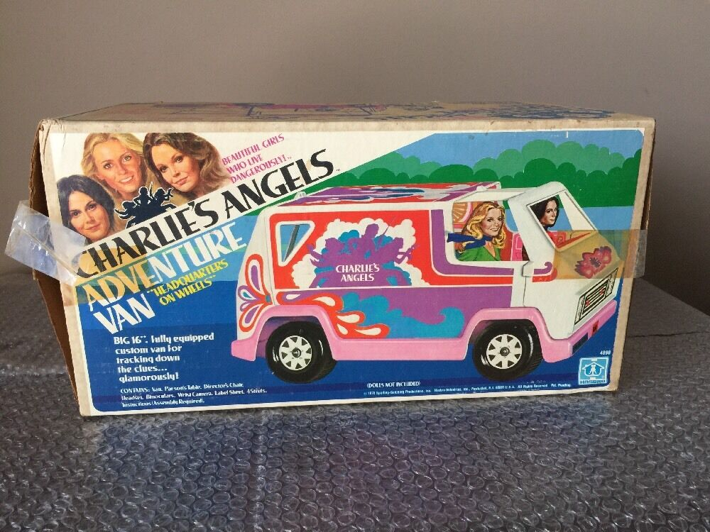 Vintage Hasbro Charlie's Angels Adventure Van 1978 New Open Box Sealed Contents
