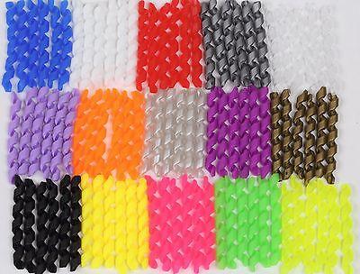 hydraulische Leitungen 2 Schutzspiralen aus weichem Gummi für Bowdenzughüllen