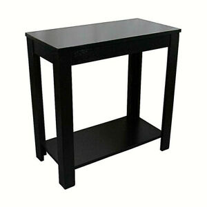 Amazing Details About Traditional Style Black Finish Side End Table 24 Inch Height Caraccident5 Cool Chair Designs And Ideas Caraccident5Info