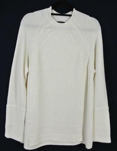 Wool Tunika Ivory Crew Mock England Sweater New Size Neck Xl J q8Xw45YA