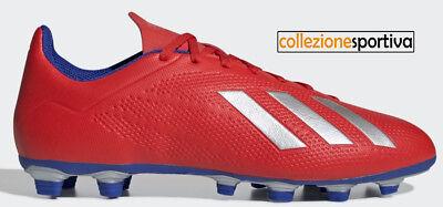 Scarpe da calcio adidas | Exhibit X 18.4 FG Rosso Uomo