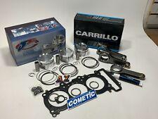 Yamaha YXZ1000R 80mm 9.5:1 Turbo CP Pistons /& OEM Head Gasket Carrillo Rods