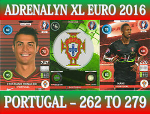 Panini Adrenalyn XL France 2016-262 Team Logo Portugal