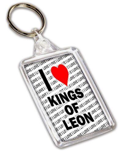 Stocking Filler I Love Kings Of Leon Keyring Christmas Birthday Gift